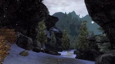 Снег в предгорьях Кабаэта