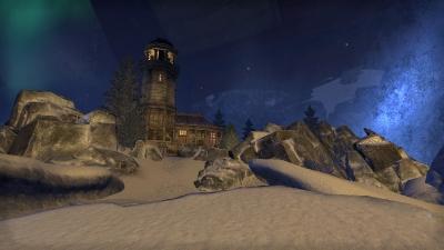 Зимний маяк