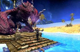 Нафалаар дарует силу драконьему стражу, для борьбы с драконами